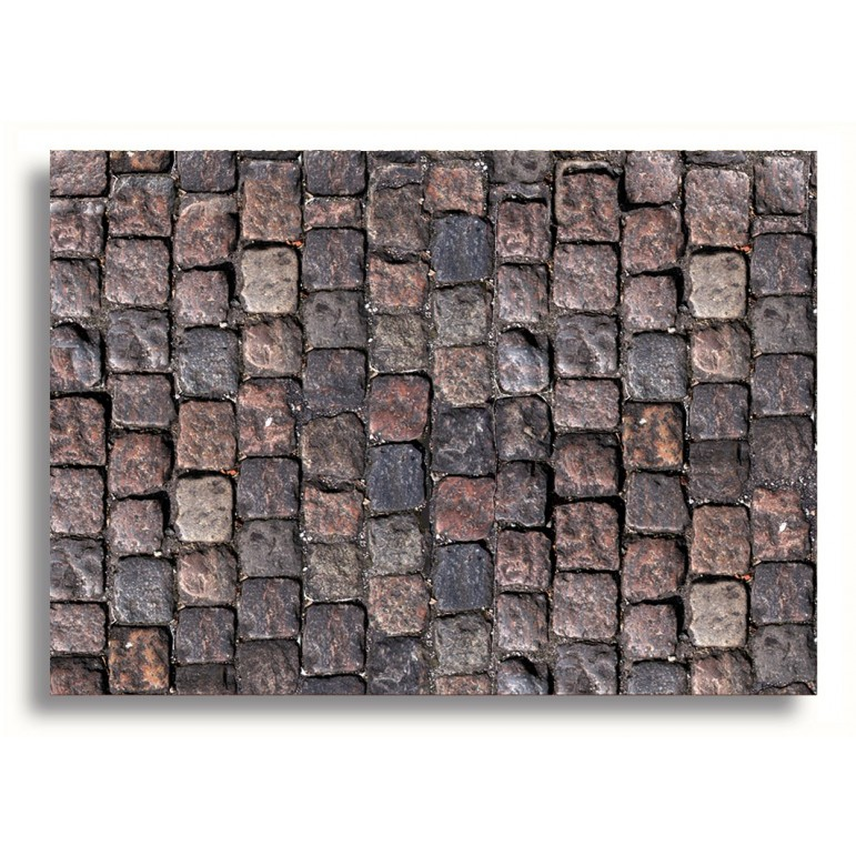 Miniature Doll House Decor Cobblestones